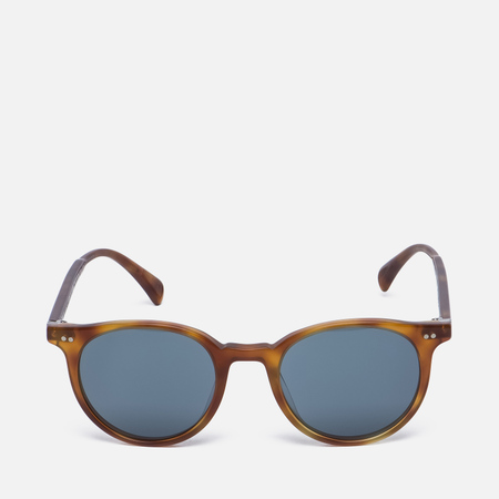Солнцезащитные очки Oliver Peoples Delray Matte Light Brown/Indigo Photochromic