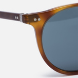 Солнцезащитные очки Oliver Peoples Delray Matte Light Brown/Indigo Photochromic фото- 2
