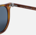 Солнцезащитные очки Oliver Peoples Delray Matte Light Brown/Indigo Photochromic фото- 3