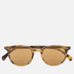 Солнцезащитные очки Oliver Peoples Delray Vintage Brown Tortoise Gradient/Gold Mirror фото- 0