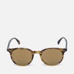 Солнцезащитные очки Oliver Peoples Delray Vintage Brown Tortoise Gradient/Gold Mirror фото- 0
