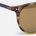 Солнцезащитные очки Oliver Peoples Delray Vintage Brown Tortoise Gradient/Gold Mirror фото- 2