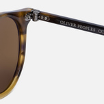 Солнцезащитные очки Oliver Peoples Delray Vintage Brown Tortoise Gradient/Gold Mirror фото- 3