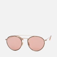 Солнцезащитные очки Oliver Peoples Ellice Mocha Marble/Gold/Mauve Rose Photochromic Glass фото- 1