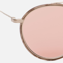 Солнцезащитные очки Oliver Peoples Ellice Mocha Marble/Gold/Mauve Rose Photochromic Glass фото- 2