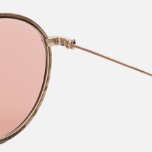 Солнцезащитные очки Oliver Peoples Ellice Mocha Marble/Gold/Mauve Rose Photochromic Glass фото- 3