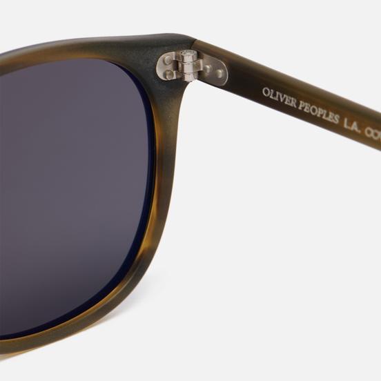 Солнцезащитные очки Oliver Peoples Finley Esq Sun Matte Black/Moss Tortoise/Graphite Polar