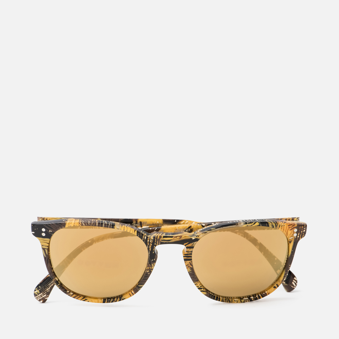 Солнцезащитные очки Oliver Peoples Finley Esq Sun Palmier Chocolat/Rose Goldtone