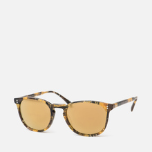 Солнцезащитные очки Oliver Peoples Finley Esq Sun Palmier Chocolat/Rose Goldtone фото- 1