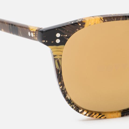 Солнцезащитные очки Oliver Peoples Finley Esq Sun Palmier Chocolat/Rose Goldtone