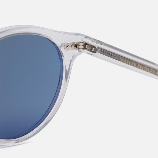 Солнцезащитные очки Oliver Peoples Gregory Peck Crystal/Indigo Photochromic