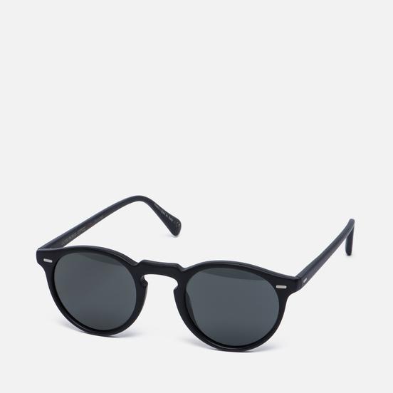 Солнцезащитные очки Oliver Peoples Gregory Peck Matte Black/Midnight Express Polarised