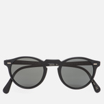 Солнцезащитные очки Oliver Peoples Gregory Peck Matte Black/Midnight Express Polarised фото- 0