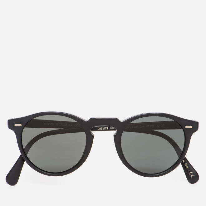 Солнцезащитные очки Oliver Peoples Gregory Peck Matte Black/Midnight Express Polarised
