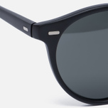 Солнцезащитные очки Oliver Peoples Gregory Peck Matte Black/Midnight Express Polarised фото- 2
