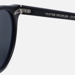 Солнцезащитные очки Oliver Peoples Gregory Peck Matte Black/Midnight Express Polarised фото- 4