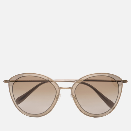Солнцезащитные очки Oliver Peoples Gwynne Antique Gold/Taupe Flash/Hazel Gradient