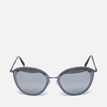 Солнцезащитные очки Oliver Peoples Gwynne Pewter/Graphite/Silver Flash Gradient Mirror