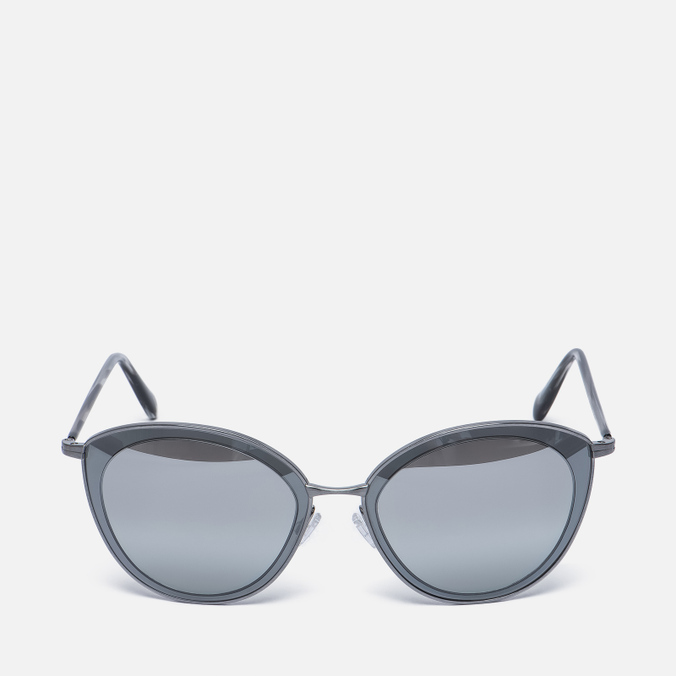 Солнцезащитные очки Oliver Peoples Gwynne Pewter/Graphite/Silver Flash Gradient Mirror