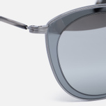Солнцезащитные очки Oliver Peoples Gwynne Pewter/Graphite/Silver Flash Gradient Mirror фото- 2