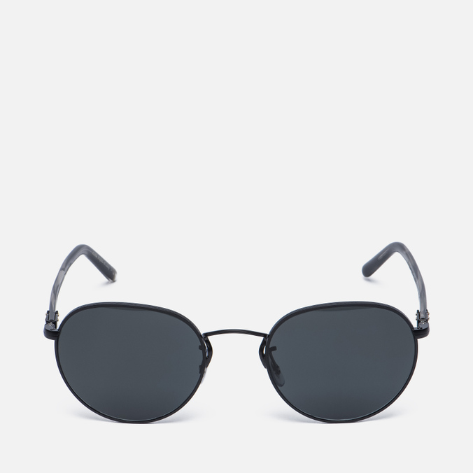 Солнцезащитные очки Oliver Peoples Hassett Matte Black/Semi-Matte Ebonywood/Midnight Express Polar