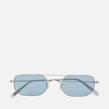 Солнцезащитные очки Oliver Peoples Indio Silver/Cobalto фото- 0