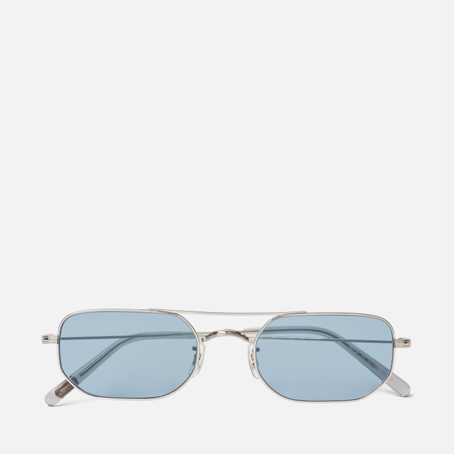 Солнцезащитные очки Oliver Peoples Indio Silver/Cobalto