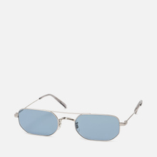 Солнцезащитные очки Oliver Peoples Indio Silver/Cobalto фото- 1