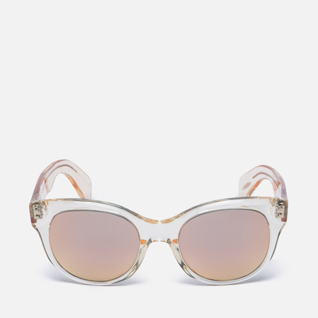 Солнцезащитные очки Oliver Peoples Jacey Buff/Pink Mirror