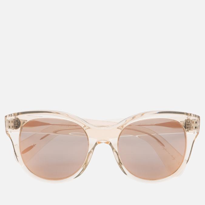 Солнцезащитные очки Oliver Peoples Jacey Buff/Pink Mirror