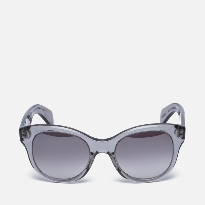 Солнцезащитные очки Oliver Peoples Jacey Workman Grey/Brown Gradient Silver Mirror