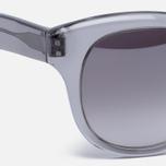 Солнцезащитные очки Oliver Peoples Jacey Workman Grey/Brown Gradient Silver Mirror фото- 2