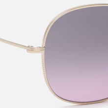 Солнцезащитные очки Oliver Peoples Mehrie Soft Gold/Purple Gradient фото- 2