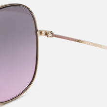 Солнцезащитные очки Oliver Peoples Mehrie Soft Gold/Purple Gradient фото- 3