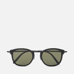 Солнцезащитные очки Oliver Peoples OP-506 Sun Dark Military/Antique Gold/Grey Goldtone