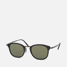 Солнцезащитные очки Oliver Peoples OP-506 Sun Dark Military/Antique Gold/Grey Goldtone фото- 1