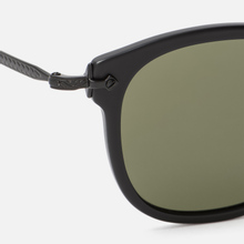 Солнцезащитные очки Oliver Peoples OP-506 Sun Dark Military/Antique Gold/Grey Goldtone фото- 2