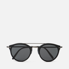 Солнцезащитные очки Oliver Peoples Remick Semi-Matte Black/Antique Pewter/Grey фото- 0