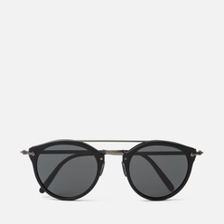 Солнцезащитные очки Oliver Peoples Remick Semi-Matte Black/Antique Pewter/Grey