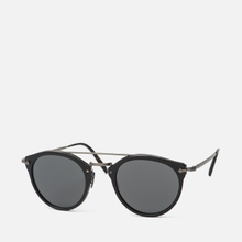 Солнцезащитные очки Oliver Peoples Remick Semi-Matte Black/Antique Pewter/Grey фото- 1