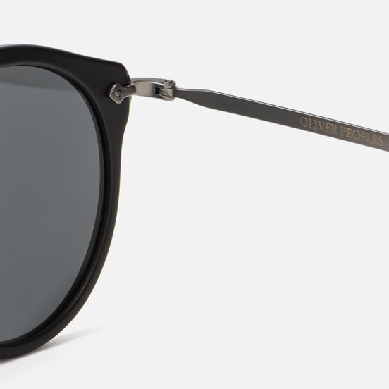 Солнцезащитные очки Oliver Peoples Remick Semi-Matte Black/Antique Pewter/Grey