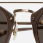 Солнцезащитные очки Oliver Peoples Remick Taupe/Brushed Gold/Taupe Flash Mirror фото - 4