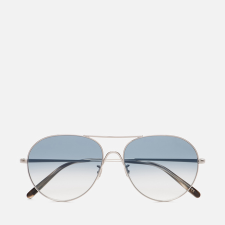 Солнцезащитные очки Oliver Peoples Rockmore Silver/Chrome Sapphire Photochromic Glass