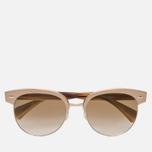 Солнцезащитные очки Oliver Peoples Shaelie Bronze Copper/Gold/Bronze Flash Gradient Mirror фото- 0
