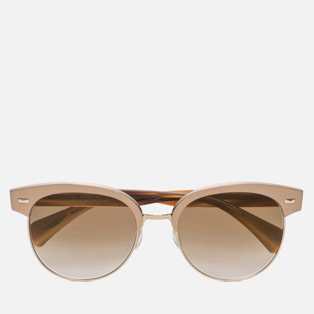 Солнцезащитные очки Oliver Peoples Shaelie Bronze Copper/Gold/Bronze Flash Gradient Mirror