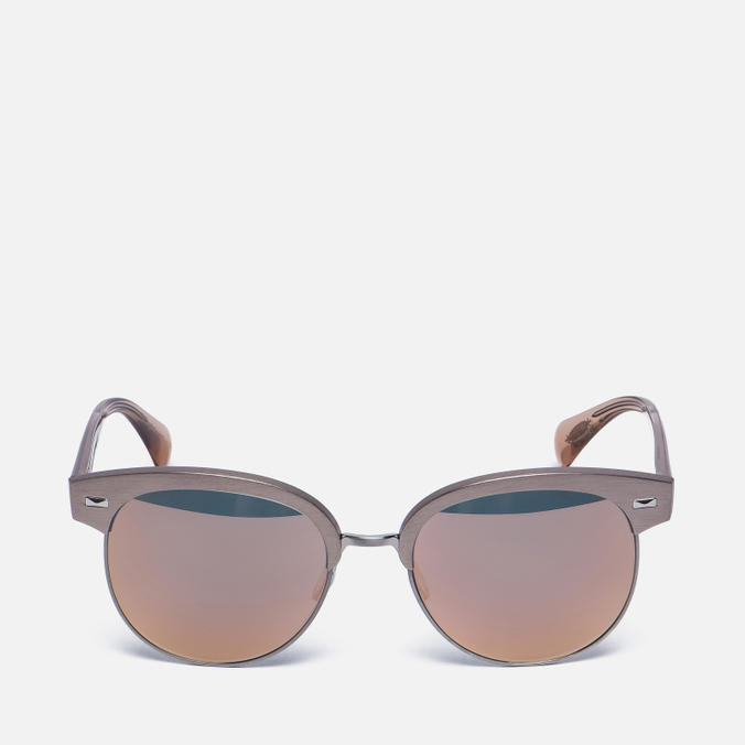 Солнцезащитные очки Oliver Peoples Shaelie Shell/Silver/Pink Mirror