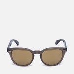 Солнцезащитные очки Oliver Peoples Sheldrake Plus Taupe/Oak/Gold Mirror фото- 0