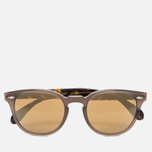 Солнцезащитные очки Oliver Peoples Sheldrake Plus Taupe/Oak/Gold Mirror фото- 0