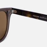 Солнцезащитные очки Oliver Peoples Sheldrake Plus Taupe/Oak/Gold Mirror фото- 3