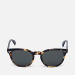 Солнцезащитные очки Oliver Peoples Sheldrake Plus Vintage Dark Tortoise Brown/G-15 Polar фото- 0